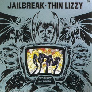 1976 Thin Lizzy Jailbreak Album Cover