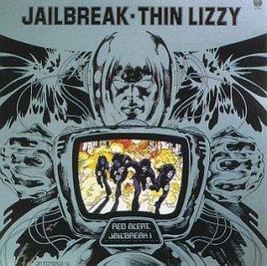 1976 Thin Lizzy Jailbreak Album Cover